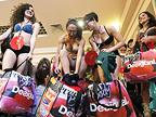 半裸 Shopping 就有 50 % 折扣,是你脱不脱?