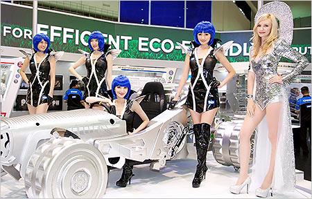 Computex 2013 開展首日 Show Girls 寫真
