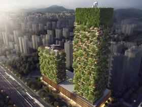 真正的天空樹 愛地球的垂直森林大樓