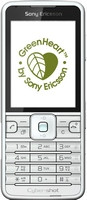 Sony Ericsson C901 Green Heart
