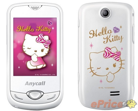 Samsung S3370 Hello Kitty 介紹圖片