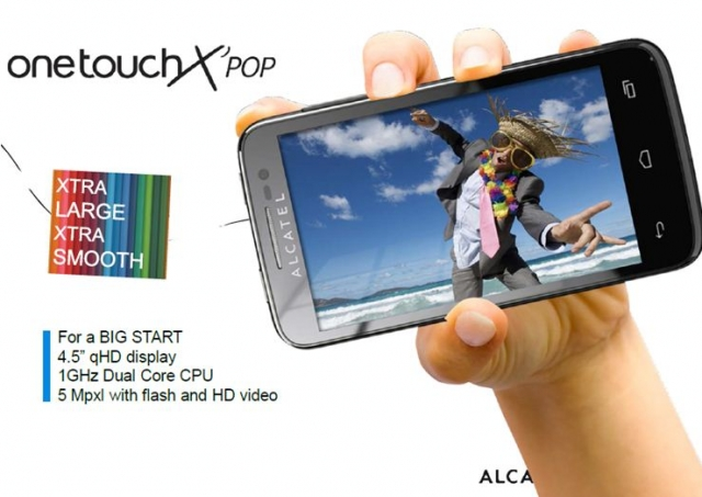 Alcatel OneTouch X Pop 介紹圖片