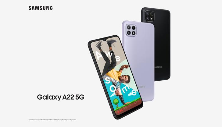 Samsung Galaxy A22 5G (6GB / 128GB) 手機介紹 - ePrice.HK 流動版