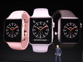 Apple Watch series 3 揭曉,搭 eSIM 連網功能、運作效率更快