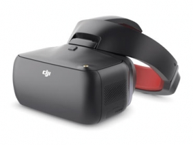 DJI Goggles 競速版頭戴眼鏡配件,讓使用者能享受更快速飛行體驗