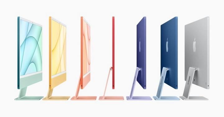 配备M1处理器的iMac增添了色彩缤纷的设计,更纤薄的机身以及来自iPad Pro游戏相关讨论区的更多设计细节-页面1