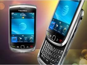 BlackBerry Torch 9800:首款 BB6 觸控滑蓋機種