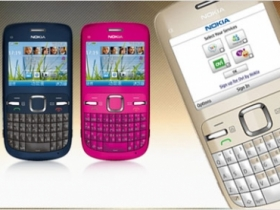 QWERTY 社交手機 Nokia C3-00 正式上市
