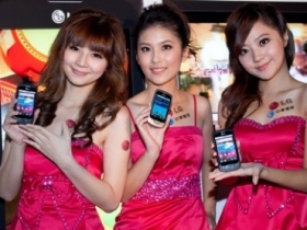 LG P500 Android 2.2 登台,無名正妹陪你玩