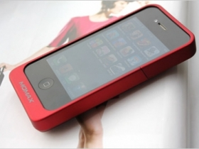 【iPhone 4 配件】MOMAX 三色電池保護套