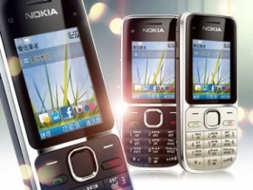 Nokia C2-01 3G 國民機上市 售 4,500 元