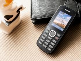 Nokia C1-02:便宜又省電的極簡主義手機