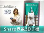 3D Android 真好玩之 Sharp 003SH 更多測試!
