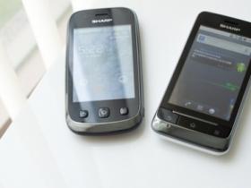 Sharp Android 登台:黑澤、極光 雙機測試