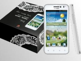限量一千組:Huawei U8860 推蕭青陽白色設計款