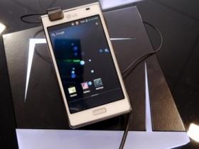 【MWC12】LG Optimus L7 / L5 / L3 新設計
