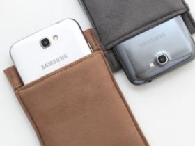 服貼不外露:便宜好用 Note 2 超纖布手機套