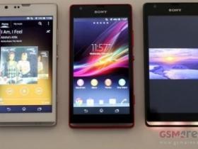 Sony Xperia SP / L 實機圖、透明帶燈光影片