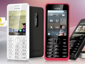 Nokia 206 Dual SIM、301 國民機上市