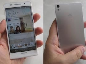 全球最薄 Huawei Ascend P6 發表,七月開賣