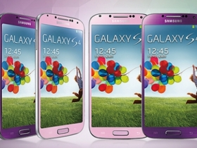 三星 Galaxy S4 星耀紫、星燦粉 八月上市