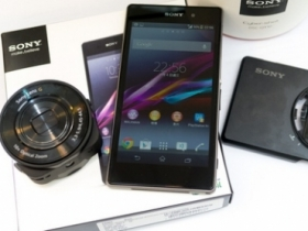 Sony Z1 新機開箱、QX10 鏡頭專門配件試用