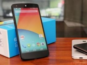 Nexus 5 螢幕、跑分全測試!KitKat 新功能示範