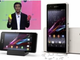 超強小砲 Sony Z1 Compact LTE,2 月上市