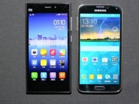 拍照誰厲害?三星 Galaxy S5 對決小米 3