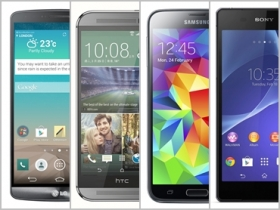 LG G3 vs. M8 、Z2 、S5 規格比一比