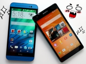 Sony Z2a vs. HTC E8 全頻對尬