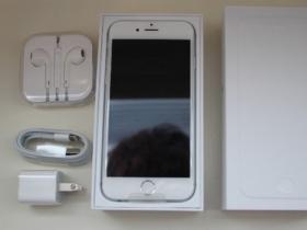 iPhone 6 64GB 銀色開箱 大小比較