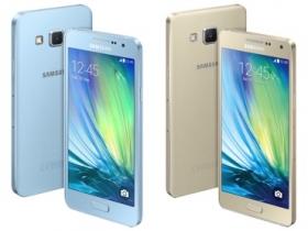 三星發表多彩 Galaxy A3 / A5