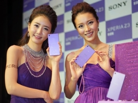 Sony Z3 新色紫,絕美海量圖賞