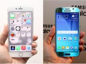 三星 S6 vs. iPhone 6 外觀比一比
