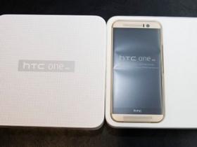 HTC One M9 耀眼金開箱