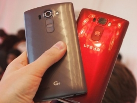 LG G4、G Flex 2 實機對比給你看