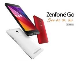 ZenFone Go 上市:聯發科 3G 款