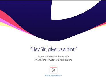 新 iPhone 確認 9 月 9 日發表