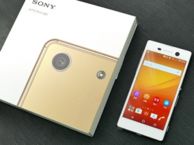台灣 Sony Xperia M5 火速開箱