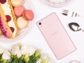 Sony 推出 Z5 玫瑰石英粉新色