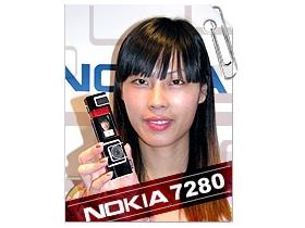 靚女最愛造型口紅機 Nokia 7280 經典亮相