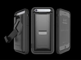 不怕沒電,Ampware iPhone 保護殼可手搖發電