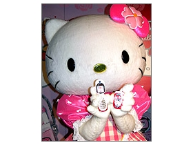 Hello Kitty 慶三十 OKWAP i516、A267 換新衣
