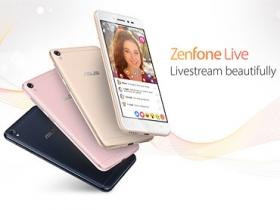 華碩推 ZenFone Live 直播美顏機