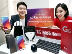 LG G6 將於 3/10 先在韓國開賣