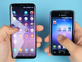 三星 Galaxy S8、Galaxy S 比拚