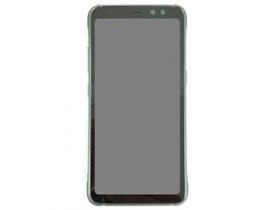 平面螢幕設計,S8 Active 實機曝光