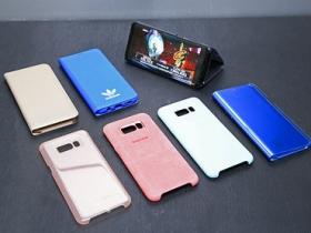 S8+ 原廠手機保護套配件分享