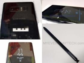 Note 8 實機流出,S Pen 也現身